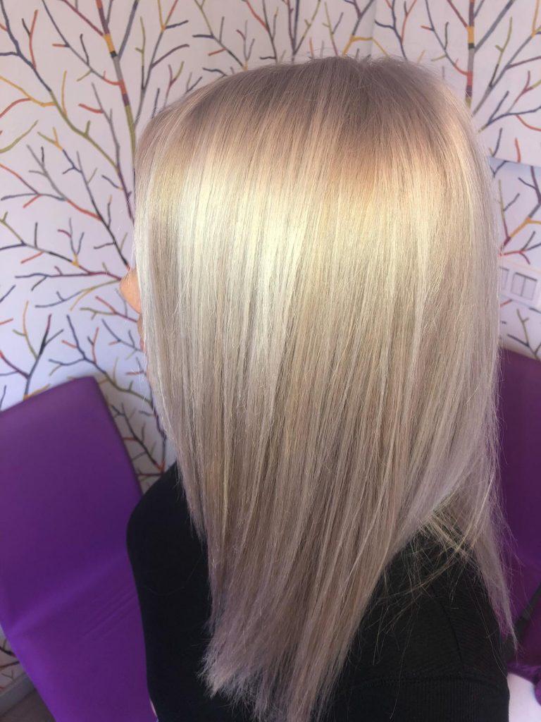 peinado con planchas